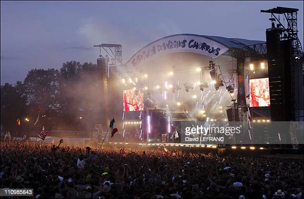 Deep Purple on stage at Les Vieilles Charrues festival in Carhaix France on July 22nd 2005
