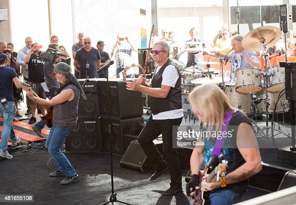 Deep Purple performs on NBC's 'Today' at Rockefeller Plaza on July 23 2015 in New York City