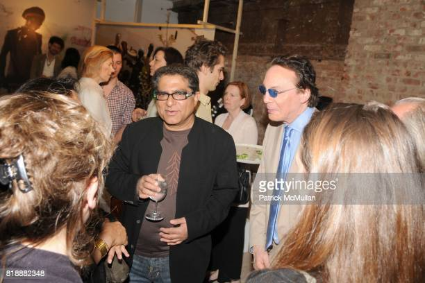 Deepak Chopra and Alan Colmes attend T Magazine and ABC Carpet Home present Deepak Chopra at ABC Home Carpet on May 17 2010 in New York City