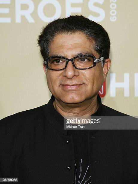 Deepak Chopra arrives to the 3rd Annual 'CNN Heroes An AllStar Tribute' held at the Kodak Theatre on November 21 2009 in Hollywood California