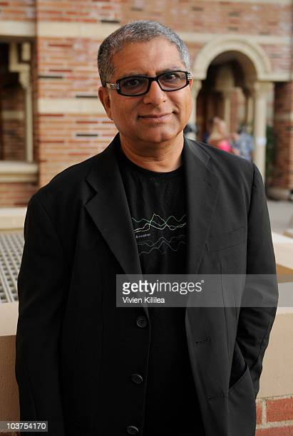 Deepak Chopra attends 'A Call To Conscious Evolution Our Moment Of Choice' event at Royce Hall UCLA on August 31 2010 in Westwood California