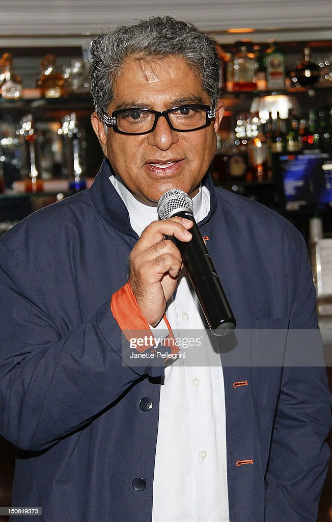 Hamptons Magazine And Morrocanoil Celebrate An Intimate Dinner With Deepak Chopra and Russell Simmons