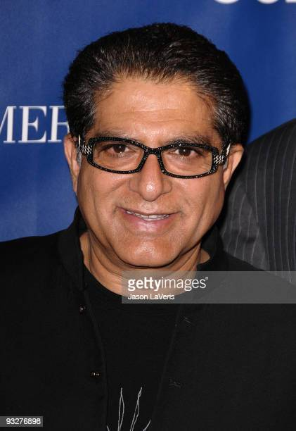 Deepak Chopra attends Oceana's 2009 Partners Award gala on November 20 2009 in Los Angeles California