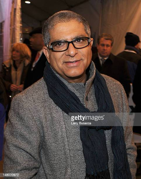 Deepak Chopra attends Paul McCartney plays World Famous Apollo Theater for first time celebrating 20 Million Sirius XM Subscribers at The Apollo...