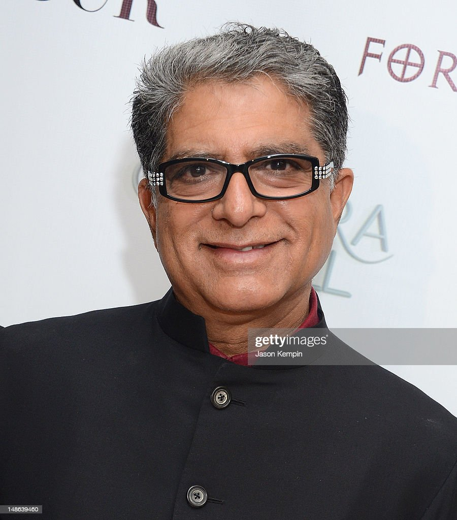 Deepak Chopra attends The Chopra Well Launch Event at Espace on July 18, 2012 in New York City.