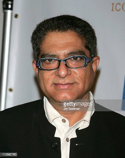 Deepak Chopra attends the Sundance Channel's 'ICONOCLASTS' Season 3 Celebration at 583 Park Avenue on October 22 2007 in New York City