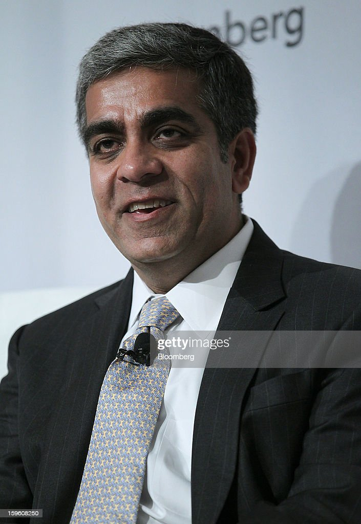 Deepak Narula, founder and managing partner at Metacapital Management LLC, speaks at the Bloomberg Global Markets Summit in New York, U.S., on Thursday, Jan. 17, 2013. The Bloomberg Global Markets Summit, co-hosted by Foreign Affairs Magazine and Bloomberg LINK, convenes market makers and market movers as investors map their strategy for the year ahead. Photographer: Jin Lee/Bloomberg via Getty Images