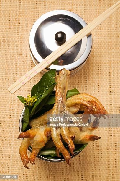 Deep-fried chicken feet (Asia)