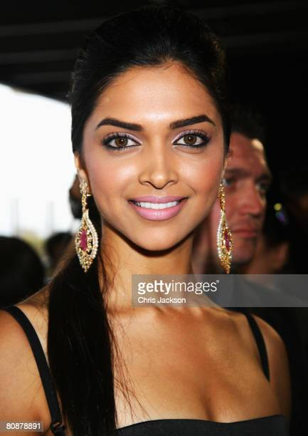 Deepika Padukone arrives at the Zee Cinema Awards 2008 at the Excel centre on April 26 2008 in London England