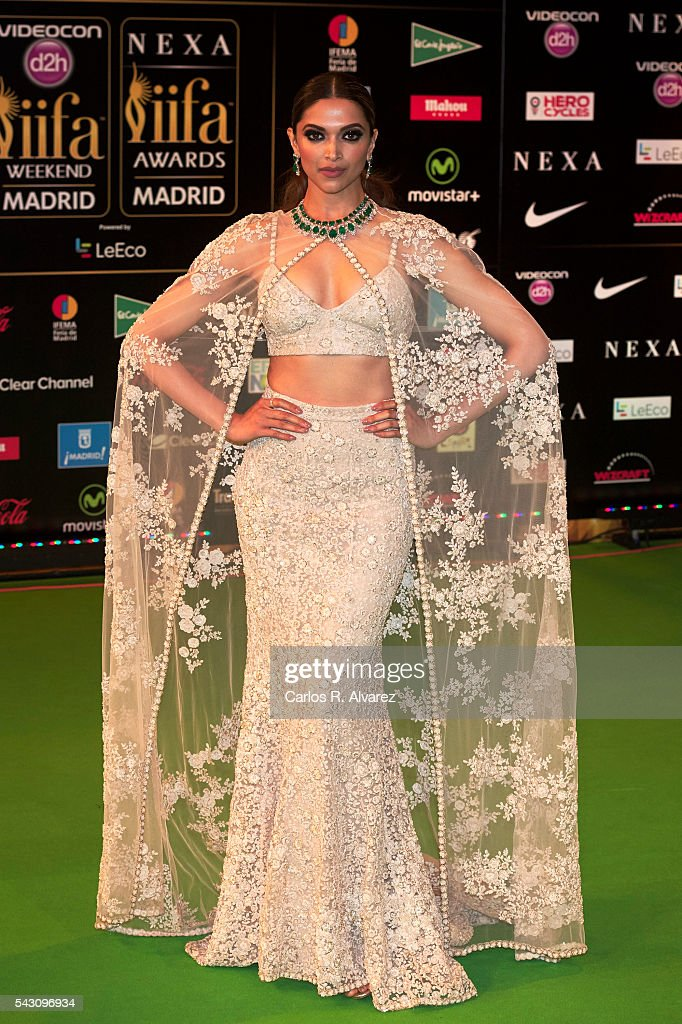<a gi-track='captionPersonalityLinkClicked' href=/galleries/search?phrase=Deepika+Padukone&family=editorial&specificpeople=869186 ng-click='$event.stopPropagation()'>Deepika Padukone</a> attends the 17th IIFA Awards (International Indian Film Academy Awards) at Ifema on June 25, 2016 in Madrid, Spain.