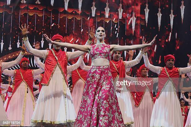 Deepika Padukone attends the 17th IIFA Awards ceremony at Ifema on June 25 2016 in Madrid Spain