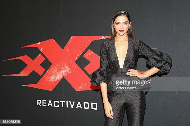 Deepika Padukone attends the Mexico City Premiere of the Paramount Pictures 'xXx Return of Xander Cage' at Auditorio Nacional on January 5 2017 in...