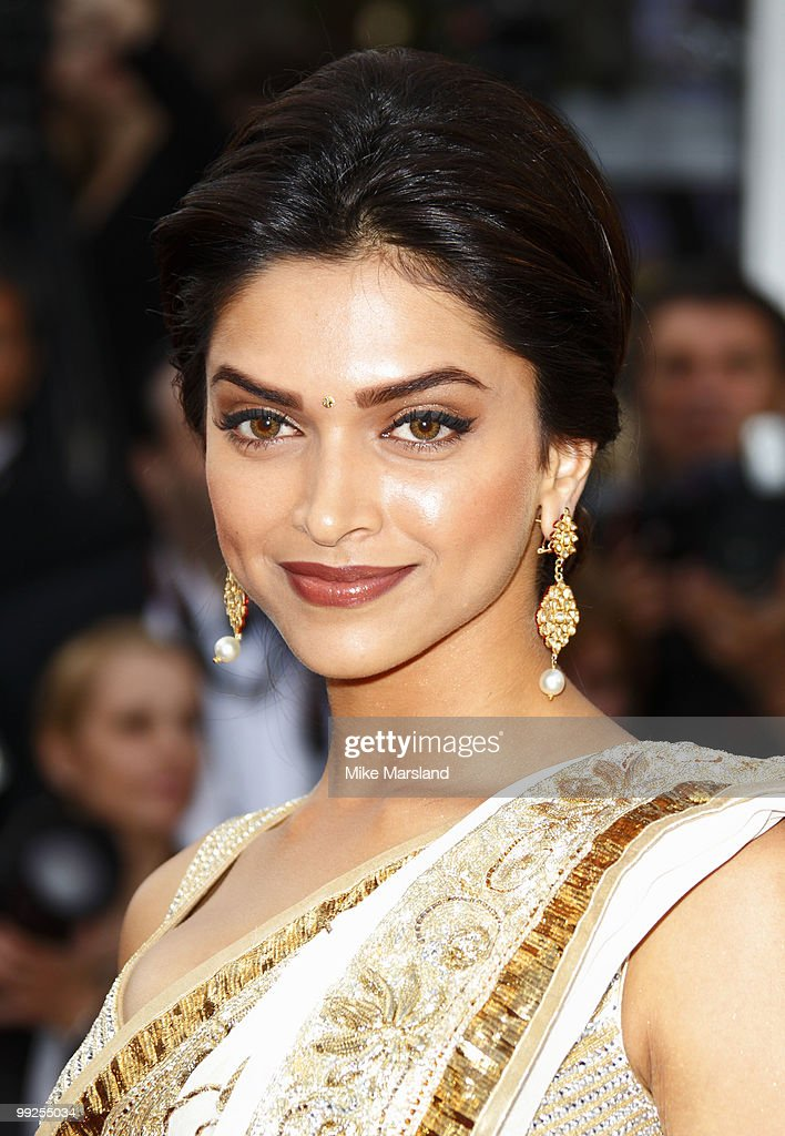 <a gi-track='captionPersonalityLinkClicked' href=/galleries/search?phrase=Deepika+Padukone&family=editorial&specificpeople=869186 ng-click='$event.stopPropagation()'>Deepika Padukone</a> attends the Premiere of 'On Tour' at the Palais des Festivals during the 63rd Annual International Cannes Film Festival on May 13, 2010 in Cannes, France. on May 13, 2010 in Cannes, France.