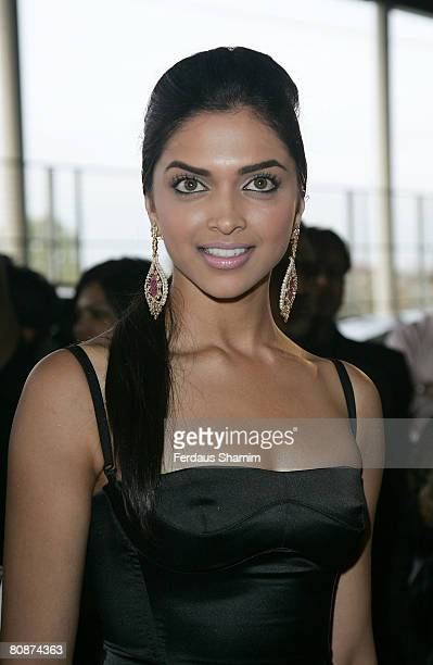 Deepika Padukone attends The Zee Cine Awards 2008 at ExCel on 26th Aprill 2008 in London England