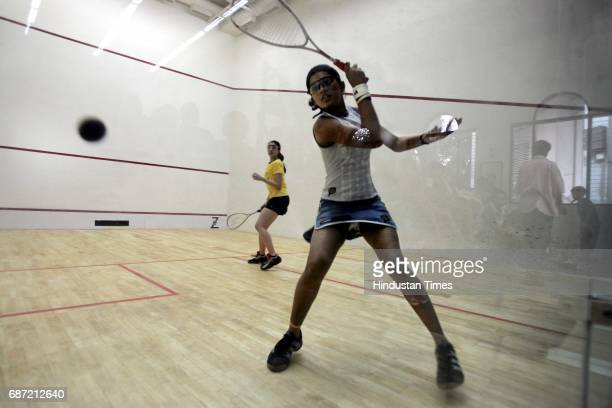 Deepika Pallikal during her match at CCI