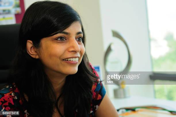 Deepika Warrier Marketing VP Pepsico India in her office photographed on March 10 2012 in Gurgaon India