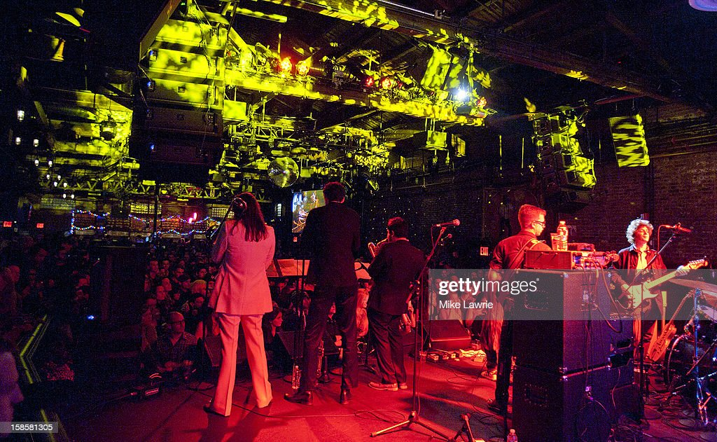 Deer Tick performs at Brooklyn Bowl on December 19, 2012 in New York City.
