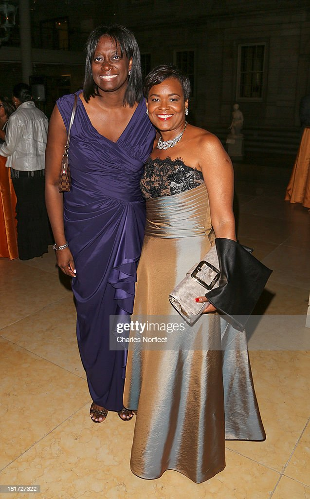 Deesha Hill (L) and Rose Kirk attend 2013 Multicultural Gala: An Evening Of Many Cultures at Metropolitan Museum of Art on September 23, 2013 in New York City.