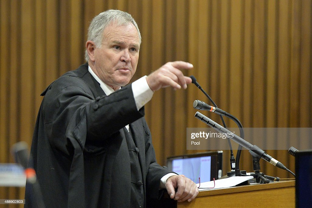 Oscar Pistorius Is Tried For The Murder Of His Girlfriend ...