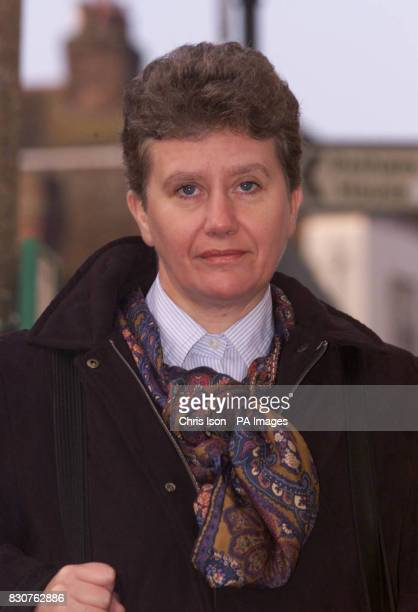 Defence barrister Sally O'Neill QC arrives at Lewes Crown Court in East Sussex for the trial of Roy Whiting the man accused of abducting and killing...
