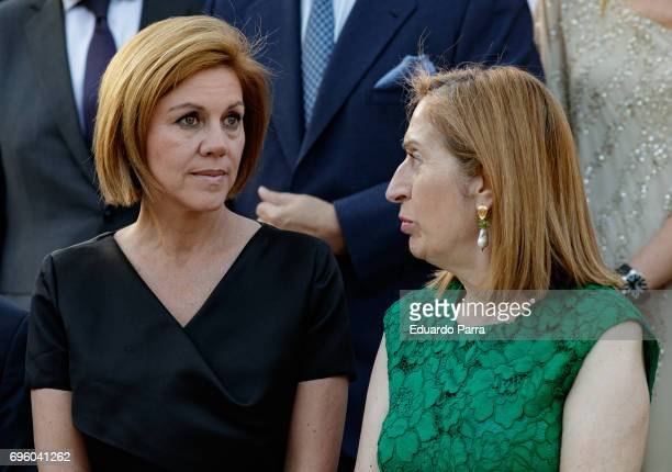 Defence Minister Maria Dolores de Cospedal and President of the Congress Ana Pastor attends as Dialogue Association pays homage to King Juan Carlos...