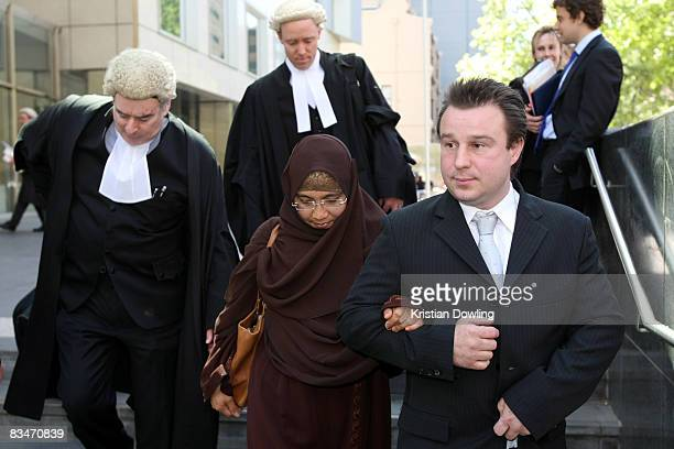 Defendant Joseph Terrance Thomas referred to as 'Jihad Jack' leaves court following a plea hearing relating to passport offence charges at the...