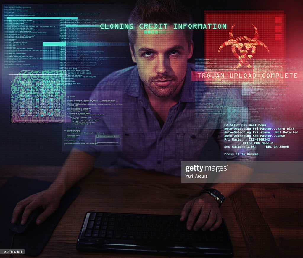Defending cyberspace against piracy : Stock Photo