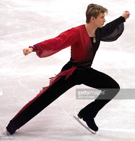 Defending World Champion Alexei Yagudin of Russia Pictures ...
