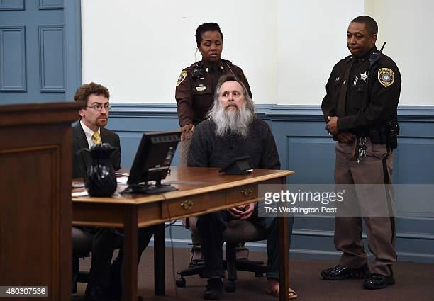 Defense attorney Joe King left sits near client Charles Severance as he appears in Alexandria Circuit Court on Thursday December 11 2014 in...