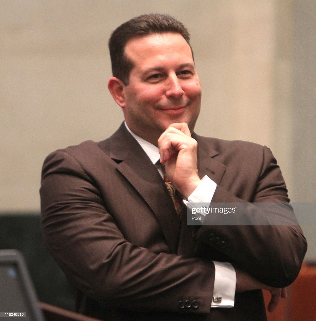 Defense attorney Jose Baez smiles at the end of the Casey Anthony trial after his client was found not guilty of murder charges at the Orange County Courthouse on July 5, 2011 in Orlando, Florida. Casey Anthony had been accused of murdering her two-year-old daughter Caylee in 2008 and was found not guilty of manslaughter in the first degree.