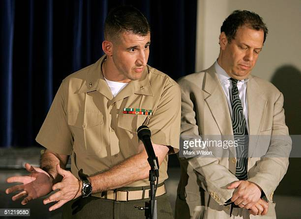 Defense attorney's Maj Michael Mori and Josh Dratel talk about David Hicks appearence before a military commission at the Guantanamo Naval Base...