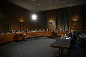 S Defense Secretary Ashton Carter and Vice Chairman of the Joint Chiefs of Staff Air Force Gen Paul Selva testify during a hearing before the Senate...