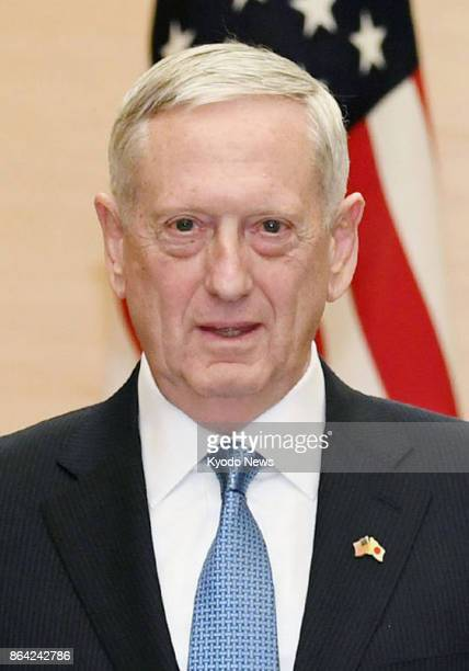 US Defense Secretary Jim Mattis seen in this file photo will attend the funeral ceremony for Thailand's late King Bhumibol Adulyadej in Bangkok on...