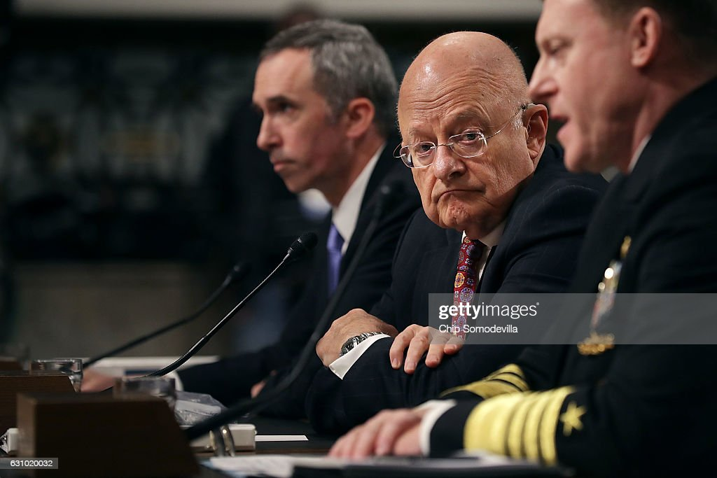 Director Of Nat'l Intelligence James Clapper Testifies To Senate Armed Services On Foreign Cyber Threats