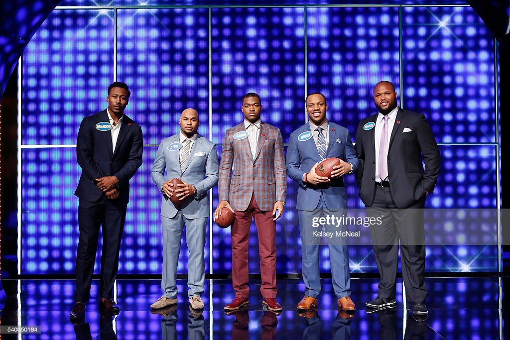 FEUD - 'AFC Defense vs NFC Offense and AFC Offense vs NFC Defense' - 'Celebrity Family Feud' will feature football players from the AFC and NFC's Offense and Defense teams, on SUNDAY, JULY 3 (8:00-9:00 p.m. EDT), on the ABC Television Network. 'Celebrity Family Feud' is hosted by Steve Harvey, the highly popular multi-hyphenate standup comedian, actor, author, deejay and Emmy Award-winning talk-show and game-show host. BRANDON