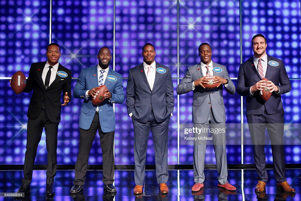 """NFL Players Star on """"Celebrity Family Feud,"""" set to air on ..."""
