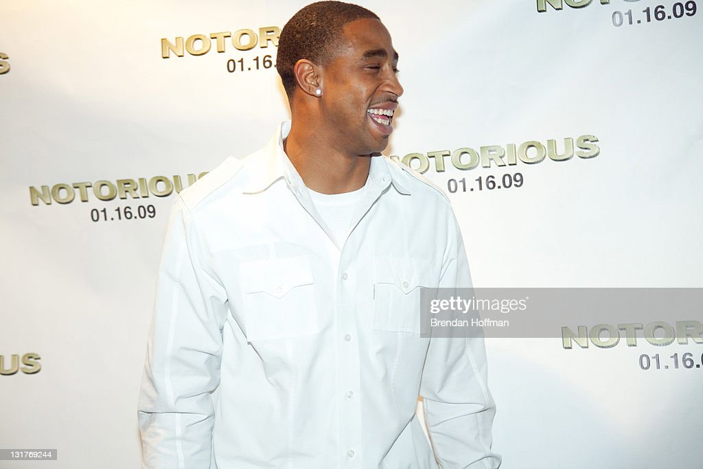 Defensive back Fred Smoot of the Washington Redskins attends a screening of 'Notorious' January 13, 2009 in Washington, DC. The film, to be released January 16, is about the life of hip-hop artist Notorious B