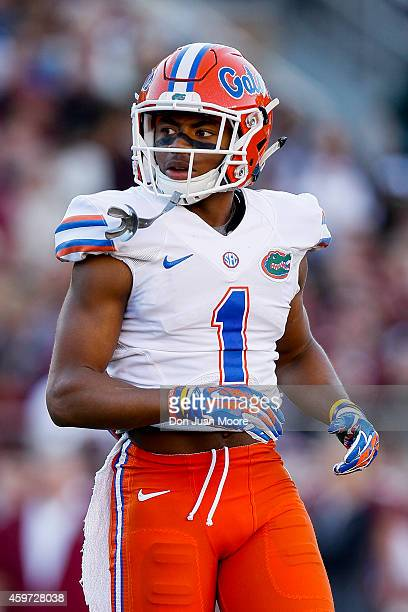 Defensive back Vernon Hargreaves III of the University of Florida Gators during the game against the Florida State Seminoles at Doak Campbell Stadium...