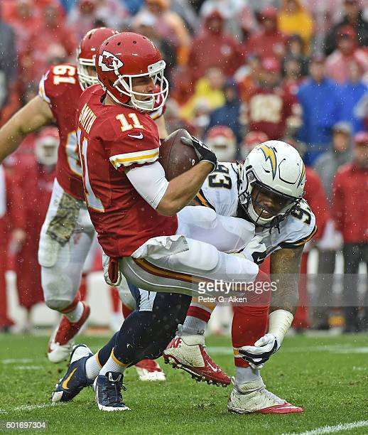 San Diego Chargers Chiefs: Darius Philon Stock Photos And Pictures