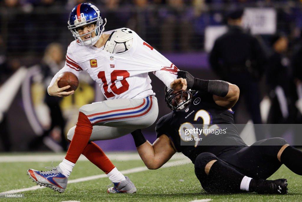 New York Giants v Baltimore Ravens