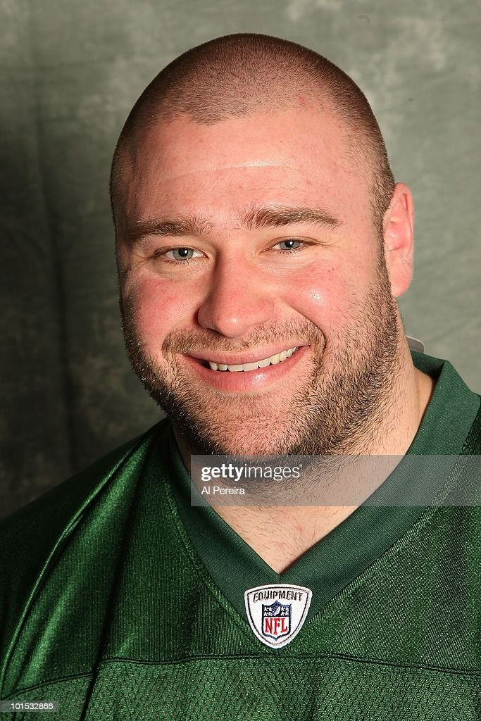 Defensive Lineman Ty Steinkuhler #61 of the New York Jets appears in a portrait on May 20, 2010 in Florham Park, New Jersey.