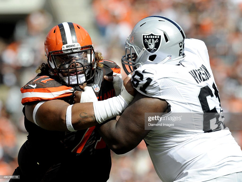 Oakland Raiders v Cleveland Browns