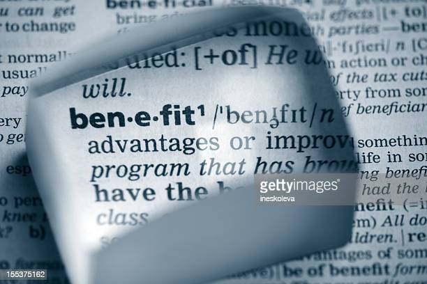 Definition benefit