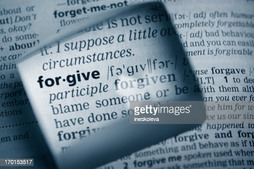 Definition 'forgive'