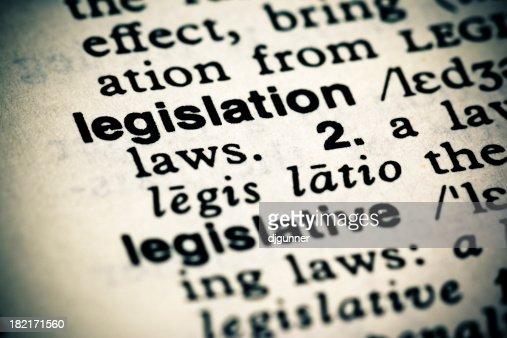 Definition: Legislation