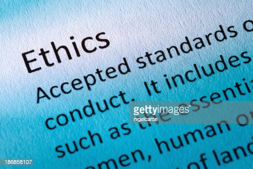 the definition of ethics and the A code of ethics issued by a business is a particular kind of policy statement a properly framed code is, in effect, a form of legislation within the company binding on its employees, with specific sanctions for violation of the code.
