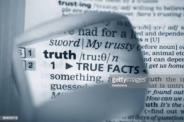 Definition 'truth'