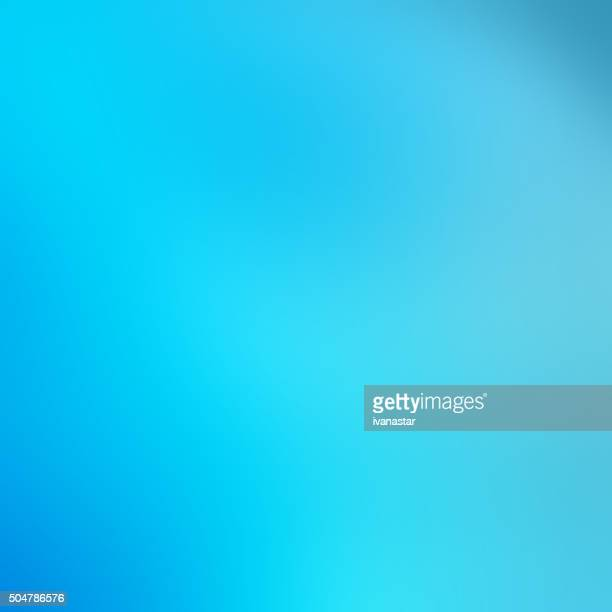 Defocused Blurred Soft Abstract Background Blue