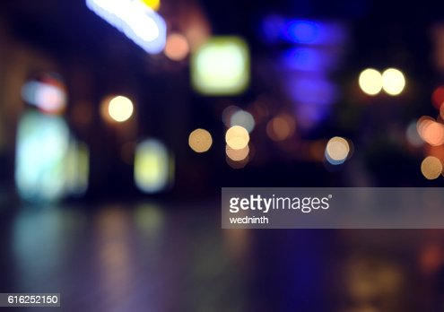 defocused bokeh light, abstract background at night photo : Stock Photo