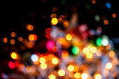 Defocused Christmas lights backgrounds